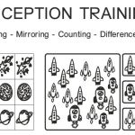 Perception training from space