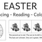 Easter: More reading and coloring