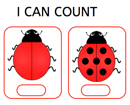 I can count, dyscalculia, counting, freebie, parents, children