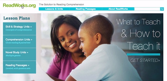 ReadWorks, reading, reading comprehension, dyslexia, parents, children