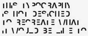 Britton Dyslexic Typeface Example