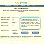 KAZ – SEN/Dyslexia Typing Software
