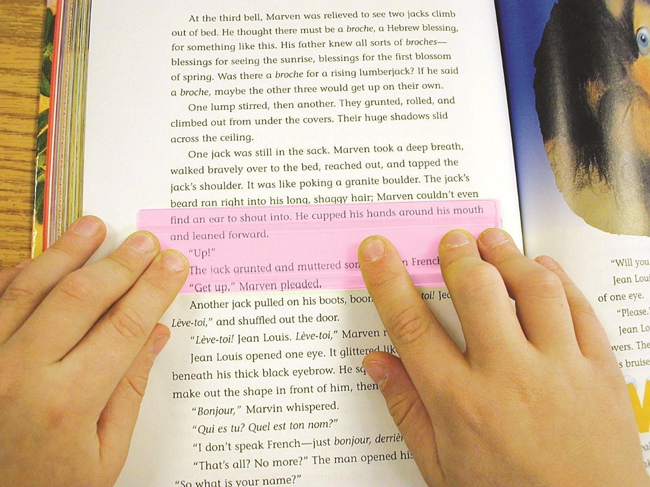 Eye Lighter Reading Ruler