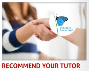 Recommend Your Dyslexia Tutor