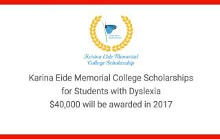 karina-eide-dyslexia-college-scholarships