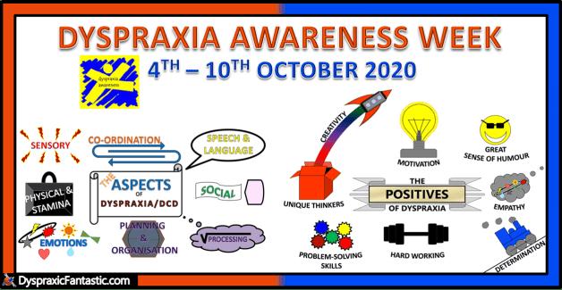 Dyspraxia Awareness 2020 Poster