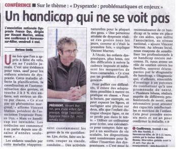 Article La Montagne 18-04-2012