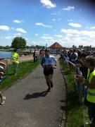 A l'arrivée du marathon
