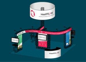 healthloop booth design