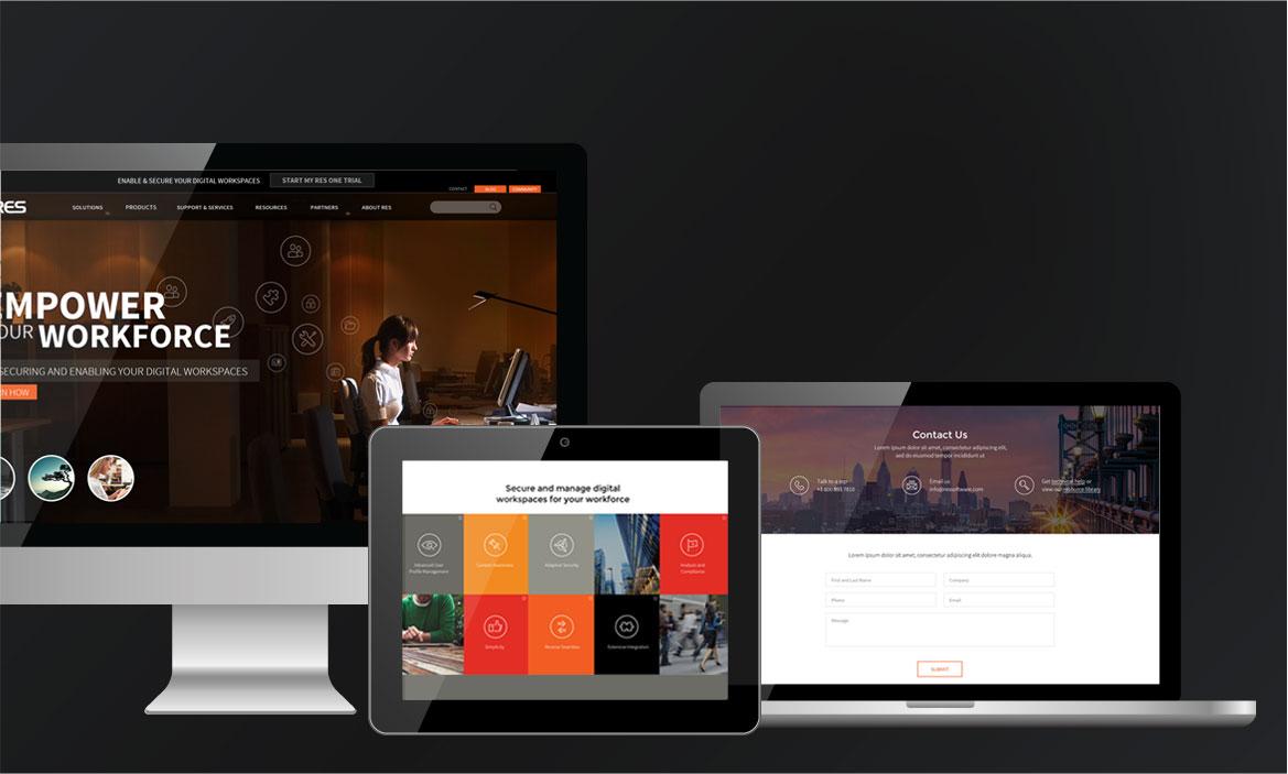 res responsive design