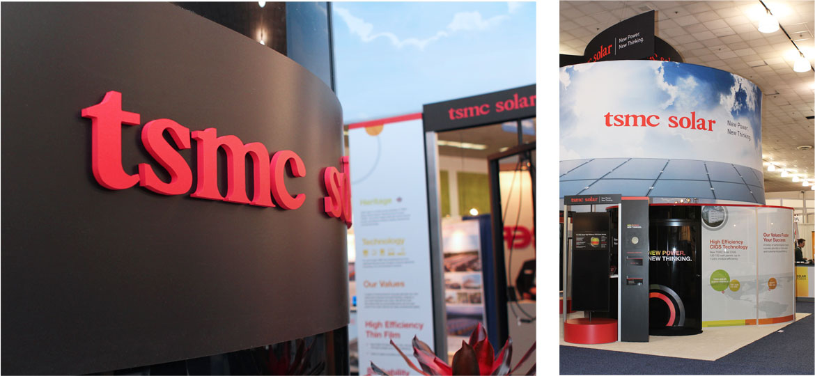 tsmc booth and convention