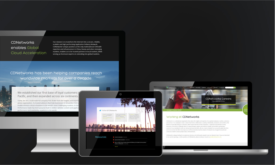cdnetworks responsive site