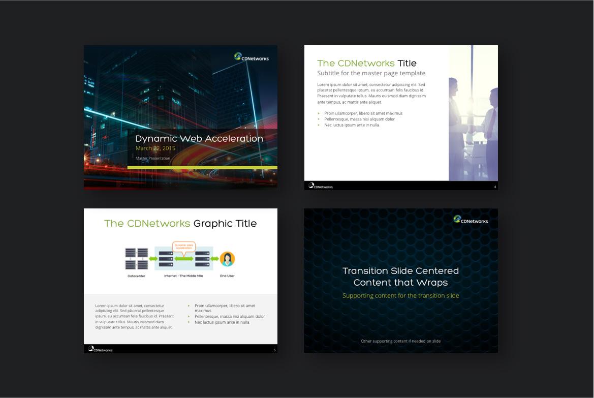 cdnetworks handout design