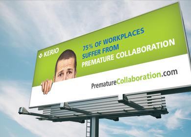 prematurecollaboration billboard