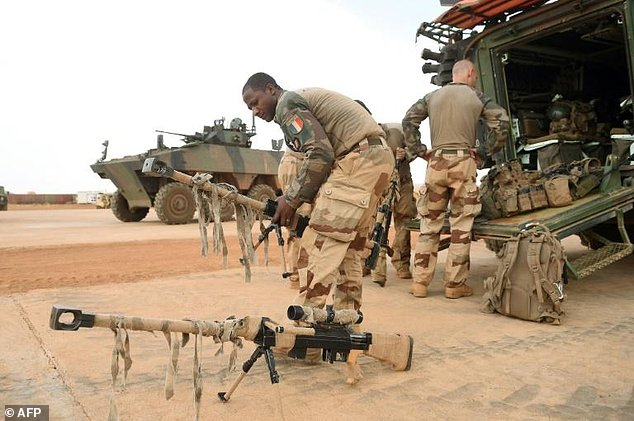 French troops in Mali