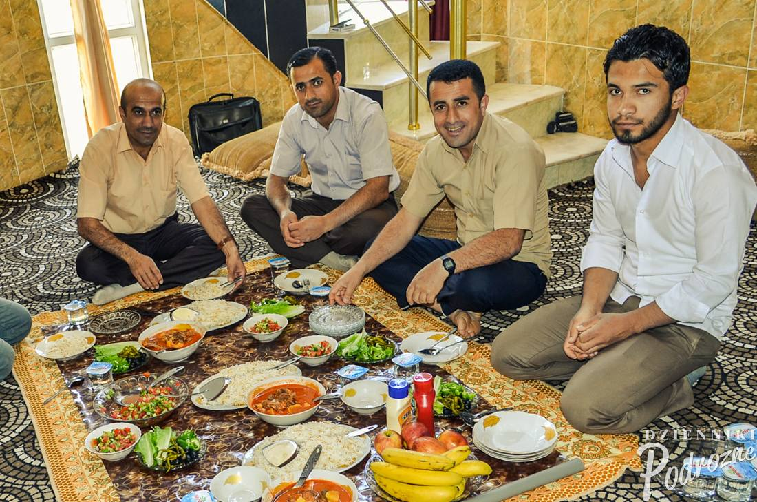 Haji z rodziną - obiadu ciąg dalszy