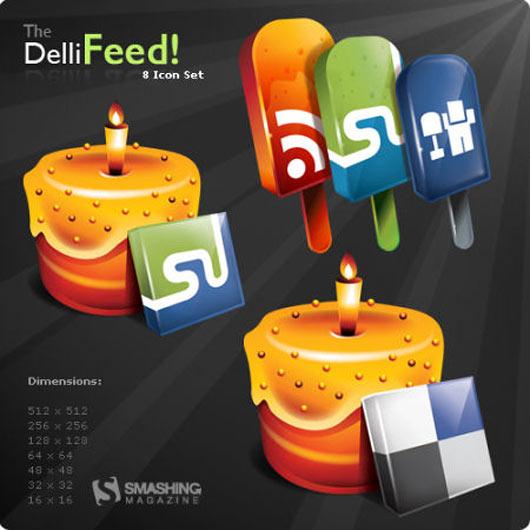 Dellifeed-A-Free-Icon-Set
