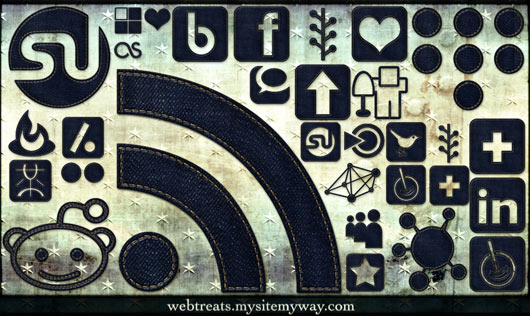 Denim-Jeans-Social-Media-Icons