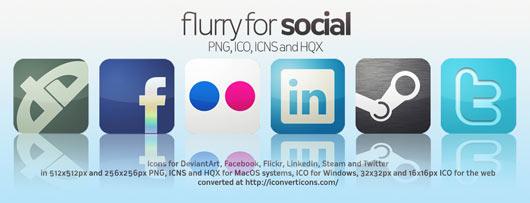 Flurry-Icons-for-Social-Media