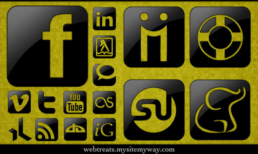 Glossy-Black-Social-Media