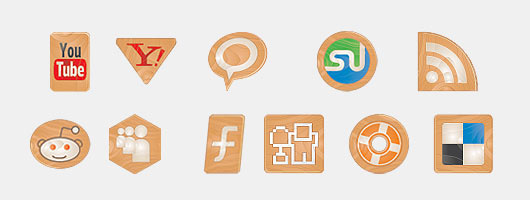 Social-Icons-Made-of-Wood
