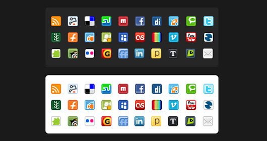 Social-Media-Mini-Iconpack