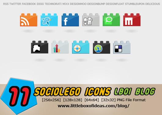 sociolego-a-free-social-icon-set