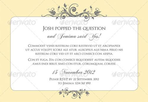 Laser Cut Wedding Enement Invitation Cards Pink Green Flora Party Birthday Invites Card