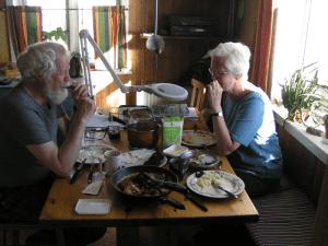Hygge og færøsk mad hos Jens Kjeld
