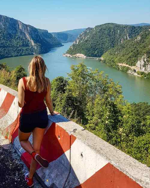 DJERDAP GORGE - BEST VIEWPOINT FROM DANUBE CRUISE