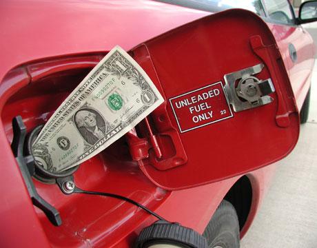 gas vs money