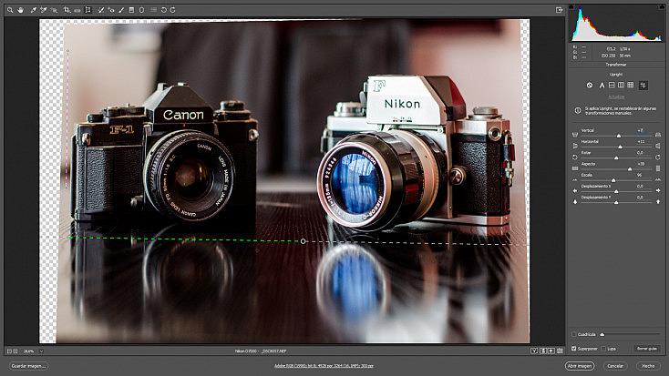 camera-raw-transformar-interfaz