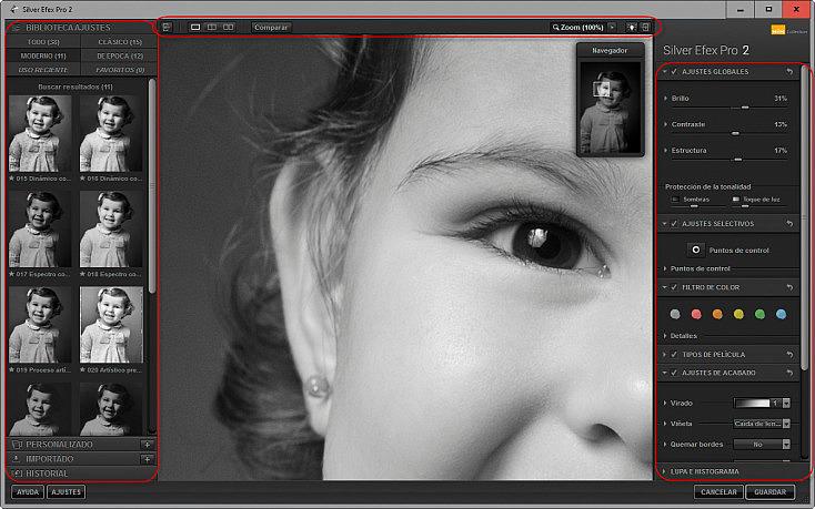 Captura Silver Efex Pro