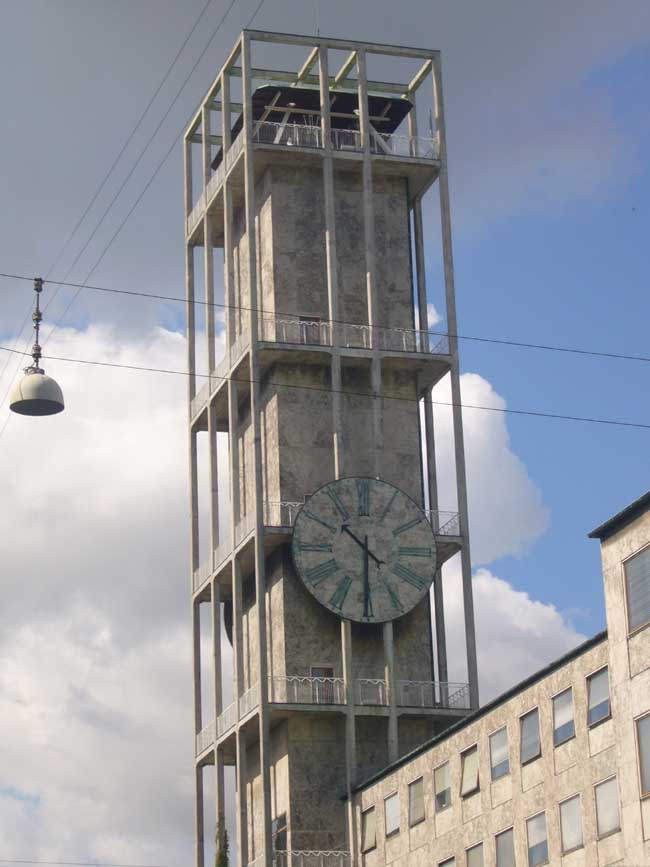 Aarhus Town Hall Arne Jacobsen Building E Architect