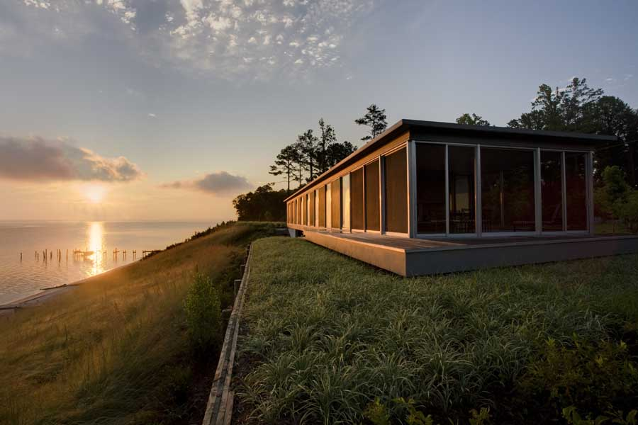 River House Virginia Jamaica Residence USA E Architect
