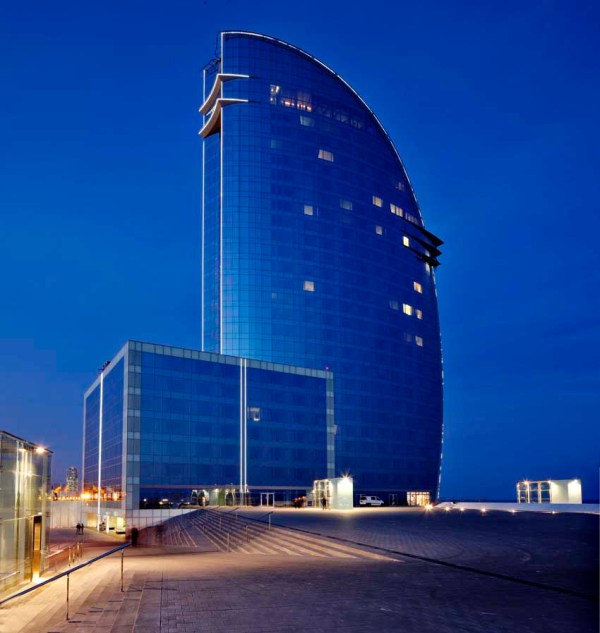 W Barcelona Hotel, Spain Accommodation - e-architect