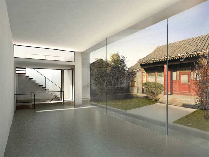 Beijing Caiguo Qiang Courtyard House  China   e architect Beijing Courtyard House
