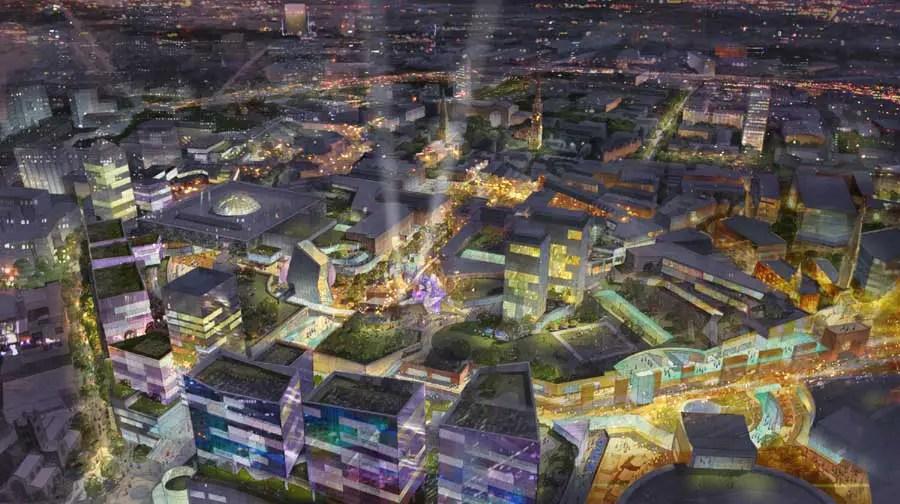 Coventry City Centre Masterplan E Architect