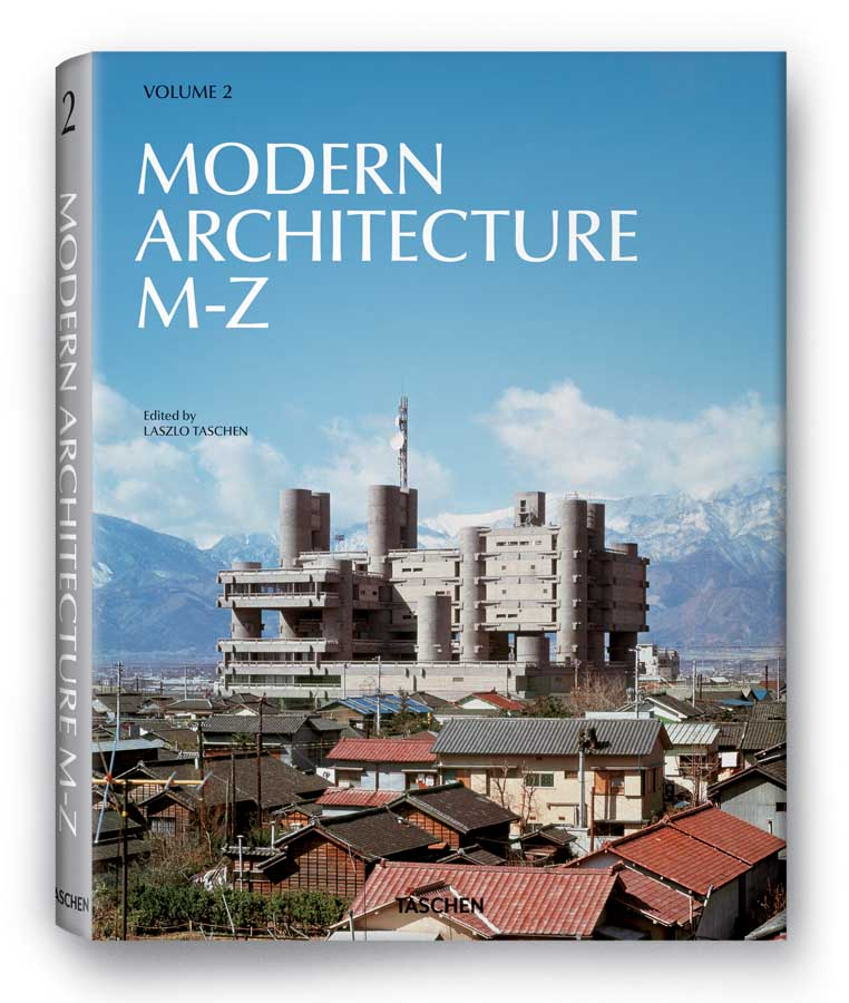 Modern Architecture A Z Book Publication By Taschen E