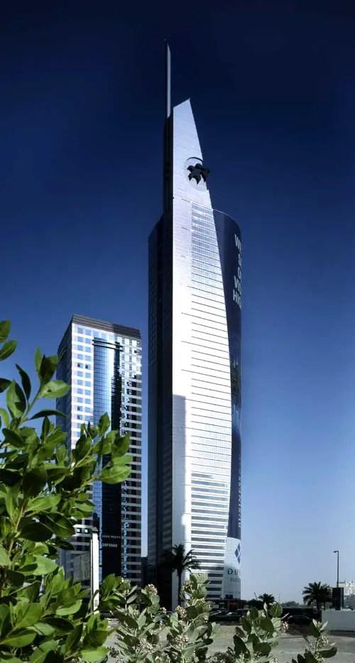 21st Century Tower Dubai Uae Skyscraper E Architect