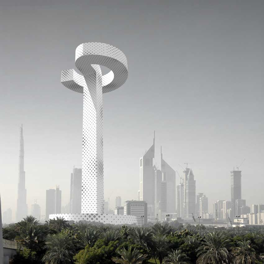 Dubai Tall Emblem Uae Skyscraper Competition E Architect