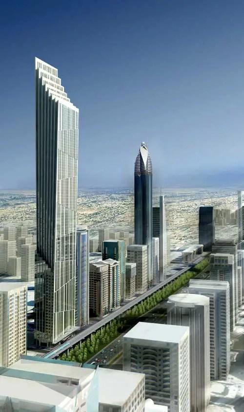 P 17 Tower Dubai Uae Skyscraper Design E Architect