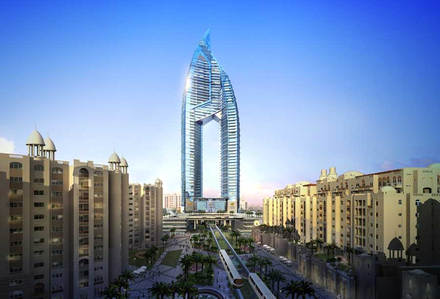 Trump International Hotel Amp Tower Dubai E Architect