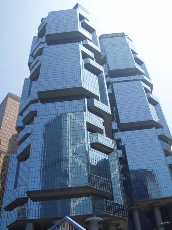 Lippo Center Hong Kong Building by Paul Rudolph - e-architect