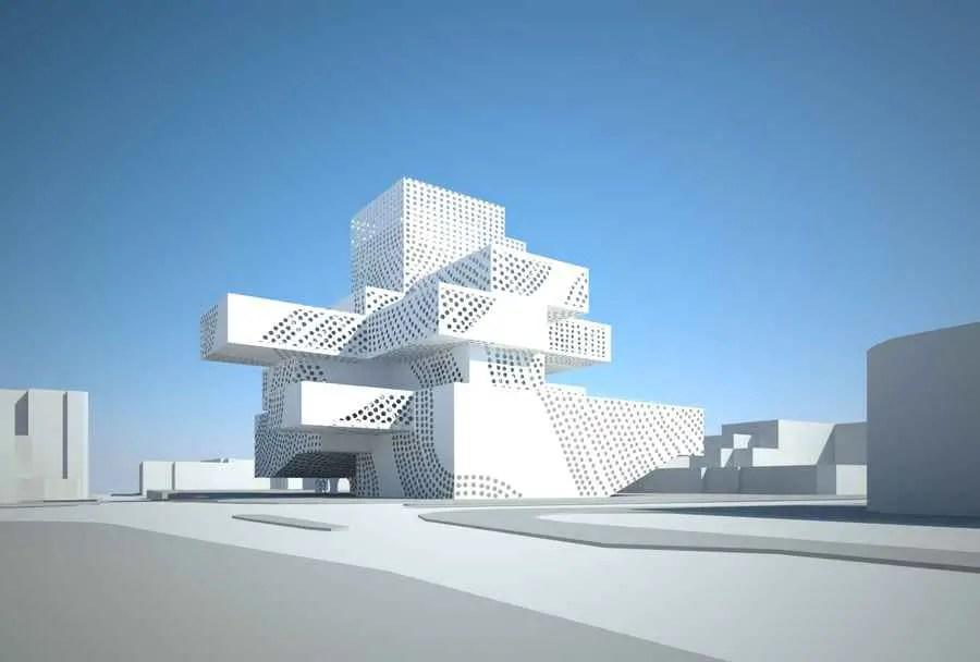 Umm El Fahem Museum Contemporary Art Israel E Architect