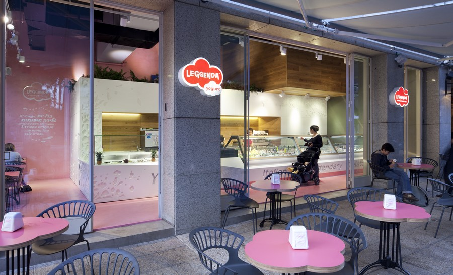 Leggenda Ice Cream Parlour Tel Aviv E Architect