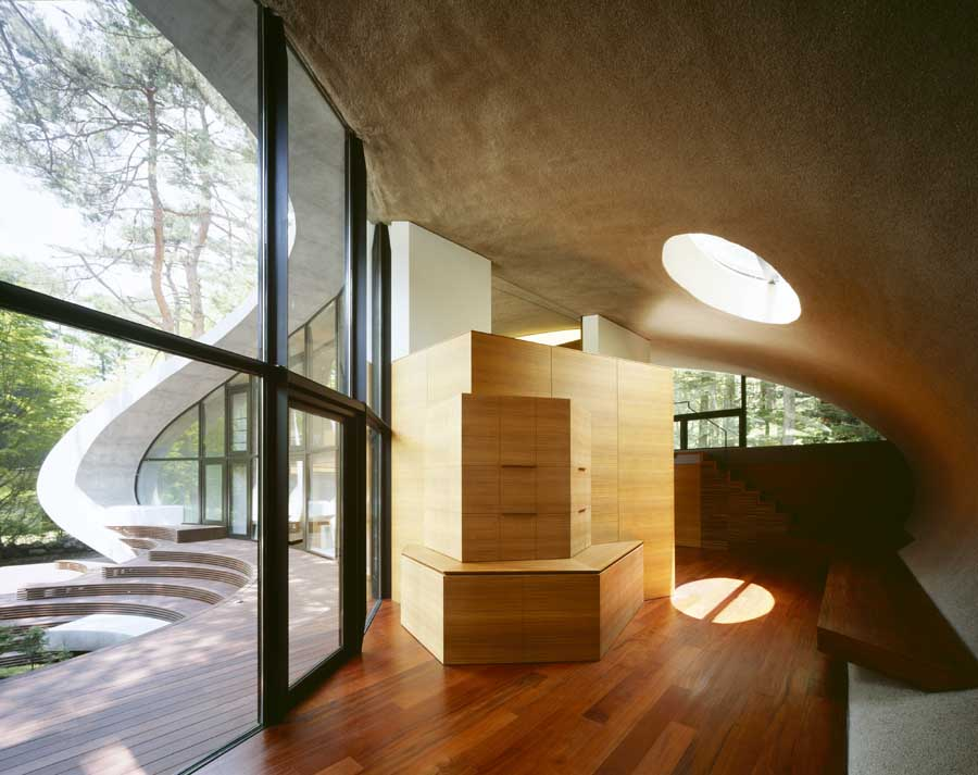 SHELL Villa Japan ARTechnic E Architect