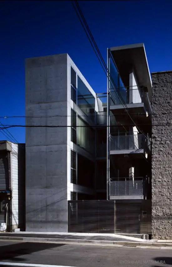 Terrace G Kobe Apartment Building Architect E Architect