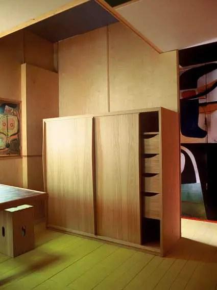 The Interior Of The Cabanon Exhibition E Architect
