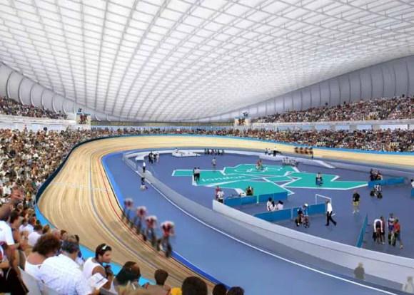 Olympic Velodrom inside view